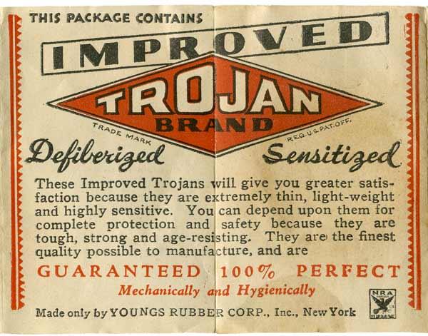 trojans advert